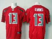 Mens Nfl Tampa Bay Buccaneers #13 Evans Red (2016 New) Elite Jersey