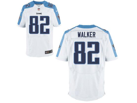 Mens Nfl Tennessee Titans #82 Walker White Elite Jersey