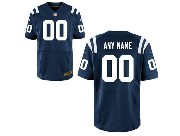 Nfl Indianapolis Colts (custom Made) Blue Elite Jersey