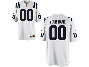 Nfl Indianapolis Colts (custom Made) White Game Jersey