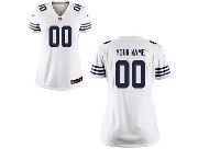 Women  Nfl Indianapolis Colts (custom Made) White Game Jersey