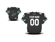 Youth Nhl San Jose Sharks (custom Made) Black Jersey