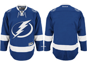 Mens Reebok Nhl Tampa Bay Lightning Blank Blue Home Jersey