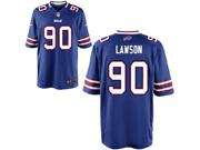Mens Nfl Buffalo Bills #90 Shaq Lawson Blue Elite Jersey