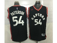 Mens Nba Toronto Raptors #54 Patrick Patterson Black&red Jersey