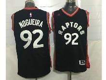 Mens Nba Toronto Raptors #92 Lucas Nogueira Black&red Jersey