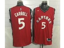 Mens Nba Toronto Raptors #5 Demarre Carroll Red Jersey