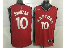Mens Nba Toronto Raptors #10 Demar Derozan Red Jersey