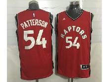 Mens Nba Toronto Raptors #54 Patrick Patterson Red Jersey