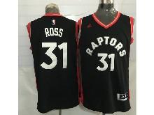 Mens Nba Toronto Raptors #31 Terrence Ross Black&red Jersey