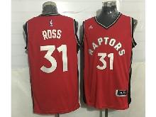 Mens Nba Toronto Raptors #31 Terrence Ross Red Jersey