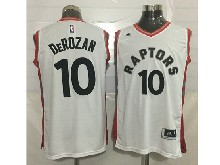 Mens Nba Toronto Raptors #10 Demar Derozan White Jersey