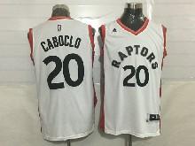 Mens Nba Toronto Raptors #20 Bruno Caboclo White Jersey