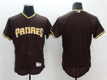 mens majestic san diego padres blank brown Flex Base jersey