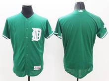 mens majestic detroit tigers blank green Flex Base jersey