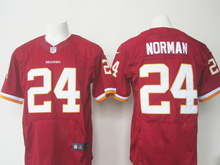 Mens Nfl Washington Redskins #24 Josh Norman Red Elite Jersey