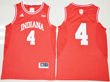 Mens Ncaa Nba Indiana Hoosiers #4 Victor Oladipo Red Jersey