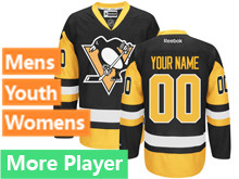 Reebok Pittsburgh Penguins Black Premier Jersey