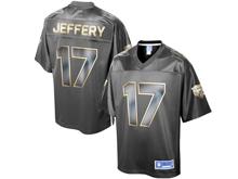 Mens Nfl Chicago Bears #17 Alshon Jeffery Pro Line Black Gold Collection Jersey