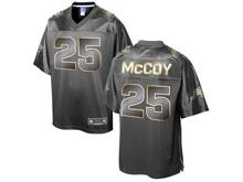 Mens Nfl Buffalo Bills #25 Lesean Mccoy Pro Line Black Gold Collection Jersey