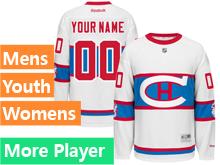 Reebok Montreal Canadiens White 2016 Winter Classic Premier Jersey