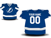 Youth Reebok Tampa Bay Lightning (custom Made) Royal Blue Home Jersey