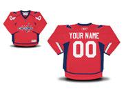Youth Reebok Washington Capitals (custom Made) Red Jersey