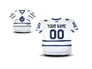 Youth Reebok Toronto Maple Leafs (custom Made) White Premier Away Jersey
