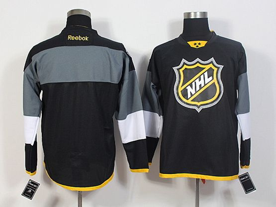 Mens Reebok Nhl Blank Black 2016 All Star Jersey