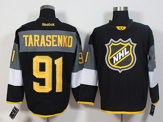 Mens Reebok Nhl St.louis Blues #91 Tarasenko Black 2016 All Star Jersey