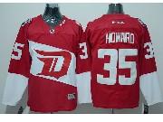 Mens Reebok Nhl Detroit Red Wings #35 Howard Red (2016 Stadium Series) Jersey
