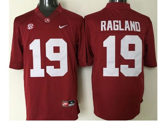 Mens Ncaa Nfl Alabama Crimson #19 Reggie Ragland Crimson Limited Jersey
