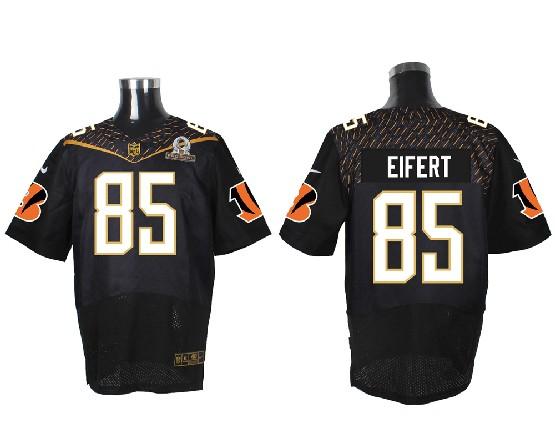 Mens Nfl Cincinnati Bengals #85 Eifert Black (2016 Pro Bowl) Elite Jersey