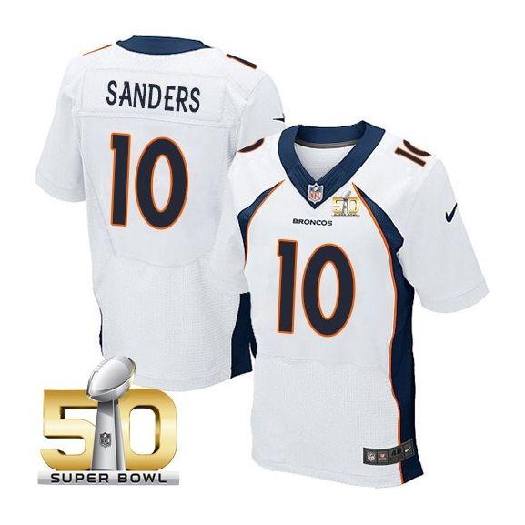 Mens Nfl Denver Broncos #11 Jordan Norwood White Super Bowl 50 Bound Elite Jersey