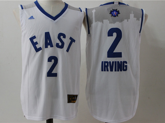 Mens Nba 2016 All Star East Cleveland Cavaliers #2 Irving White Jersey