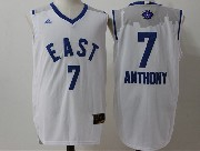 Mens Nba 2016 All Star East York Knicks #7 Anthony White Jersey