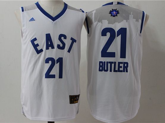 Mens Nba 2016 All Star East Chicago Bulls #21 Butler White Jersey