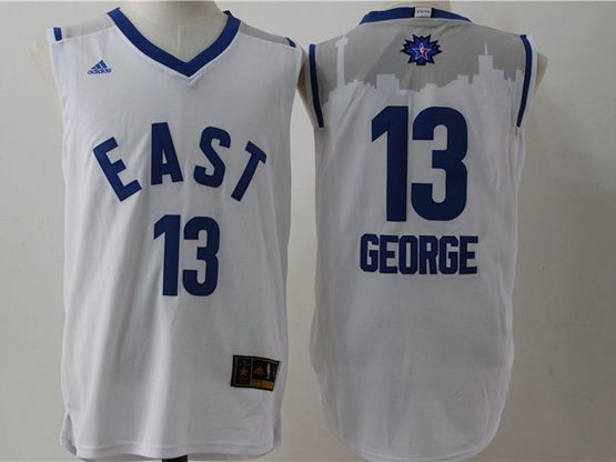 Mens Nba 2016 All Star East Indiana Pacers #13 George White Jersey