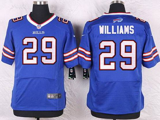 Mens Nfl Buffalo Bills #29 Williams Blue 2013 Elite Jersey