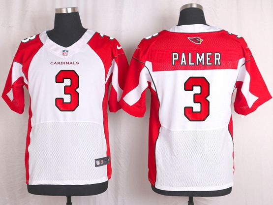 Mens Nfl Arizona Cardinals #3 Carson Palmer White Elite Jersey