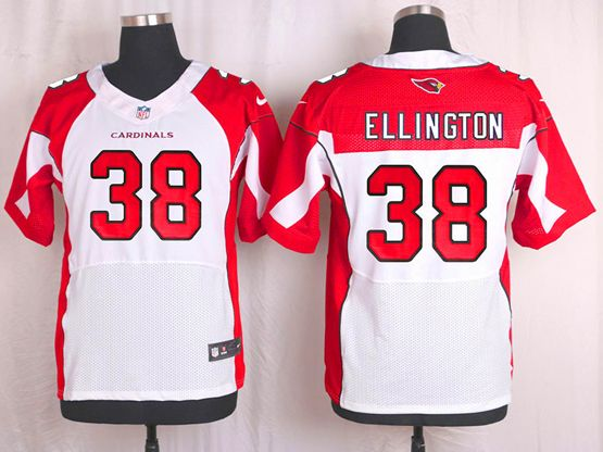 Mens Nfl Arizona Cardinals #38 Andre Ellington White Elite Jersey