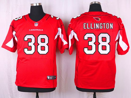 Mens Nfl Arizona Cardinals #38 Andre Ellington Red Elite Jersey