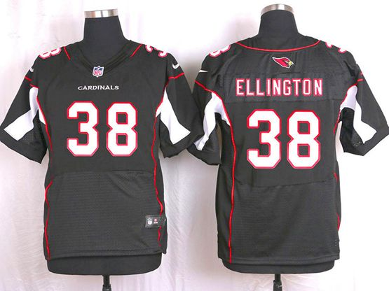 Mens Nfl Arizona Cardinals #38 Andre Ellington Black Elite Jersey