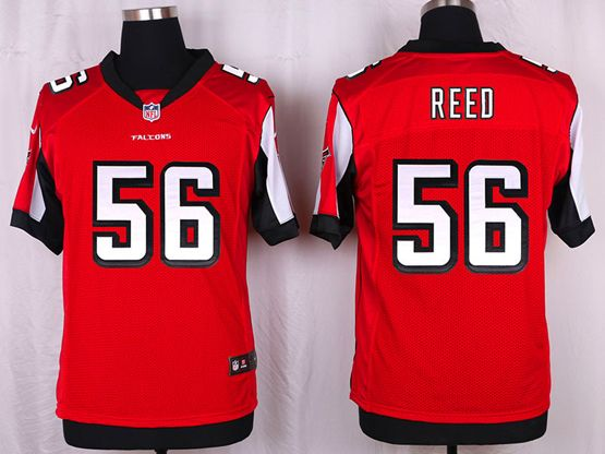 Mens Nfl Atlanta Falcons #56 Brooks Reed Red Elite Jersey