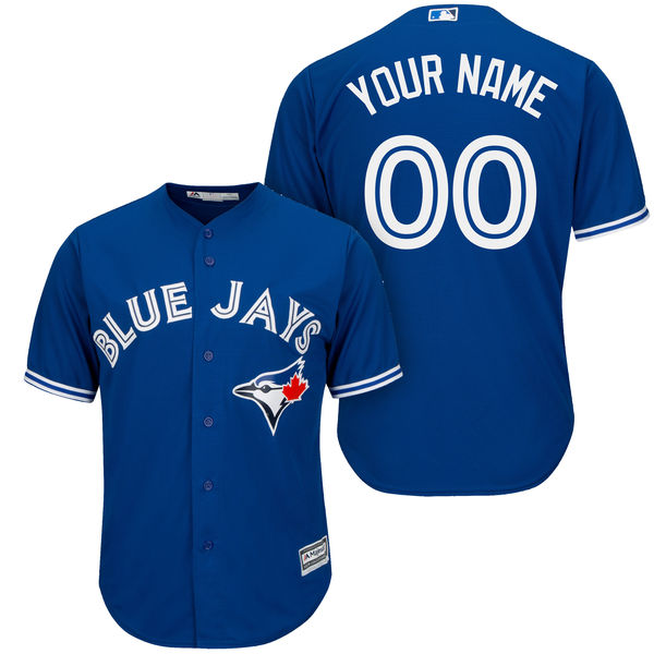 Mens Majestic Toronto Blue Jays Blue Cool Base Jersey