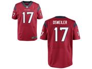 NFL Houston Texans #17 Brock Osweiler Red Elite Jersey