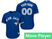 Mens Majestic Toronto Blue Jays Blue Cool Base Jersey
