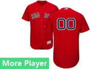 Mens Majestic Boston Red Sox Red Flex Base Jersey