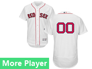 Mens Majestic Boston Red Sox White Flex Base Jersey