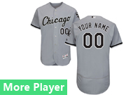 Mens Majestic Chicago White Sox Gray Flex Base Jersey